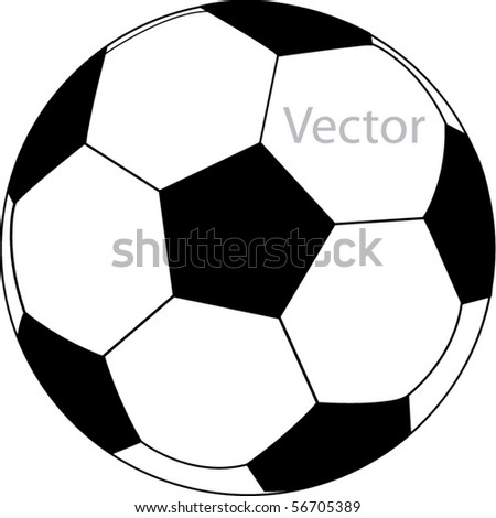 vector football - stock vector
