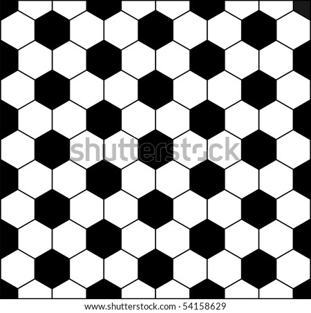 Vector football background. - stock vector