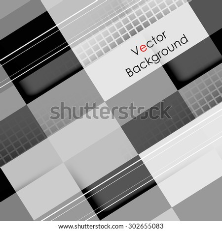 vector geometric background. Elements for design. Eps10 - stock vector