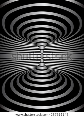 Vector geometric optical illusion, pattern can be used for wallpaper, pattern fills, web page background  - stock vector