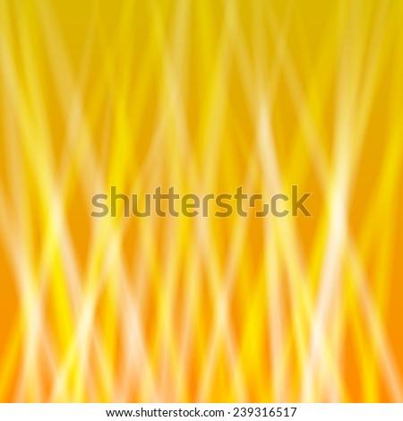 Vector golden light background texture - stock vector