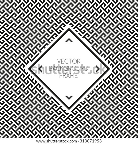 Vector graphic design templates labels and badges on decorative backgrounds - stock vector