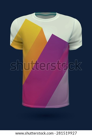 Vector graphic t-shirt design / Print design - stock vector