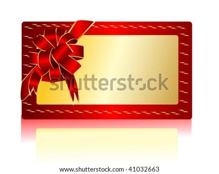 Vector greeting card - stock vector
