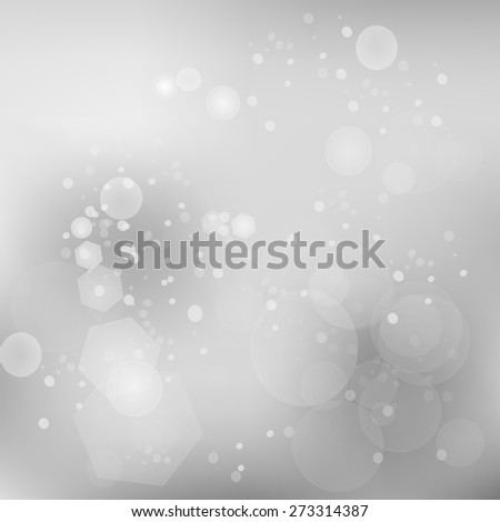 Vector Grey Abstract Blurred Background. Grey Pattern Christmas Background. - stock vector