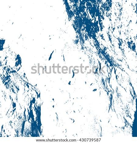 vector grunge background blue texture illustration - stock vector