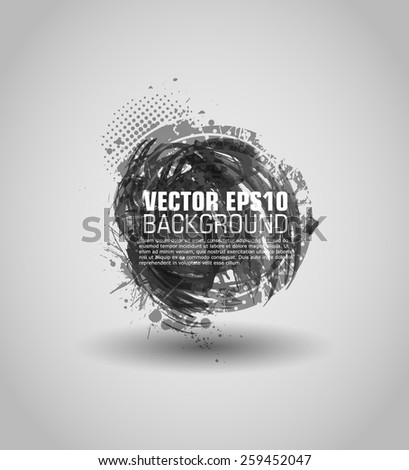 Vector grunge background. Chalk background. Retro background. Vintage background. Business background. Abstract background. Texture background. Abstract shape - stock vector