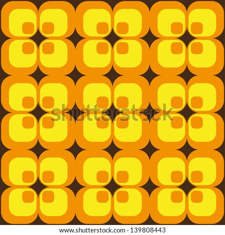 Vector grunge retro background - stock vector