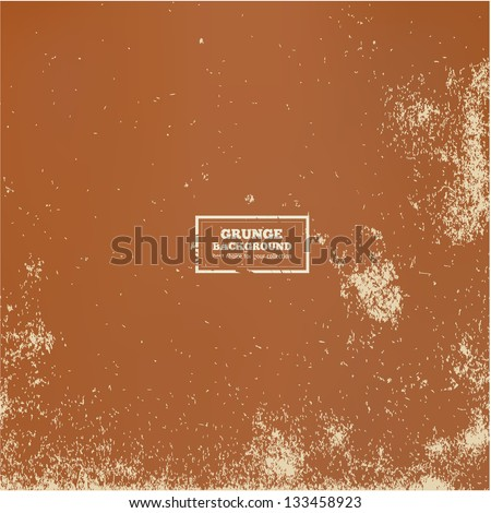Vector Grunge Textured Paper - stock vector