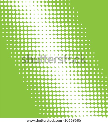 Vector halftone pattern - stock vector