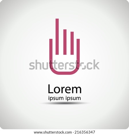 Vector icons for mobile devices. EPS 10 - stock vector