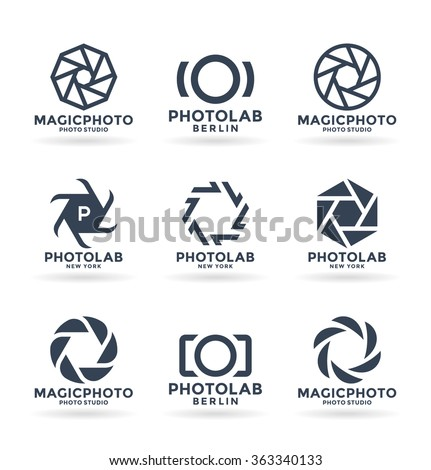 Vector Icons for Photographers (10) - stock vector