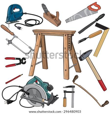 26 Original Woodworking Tools Cartoon | egorlin.com