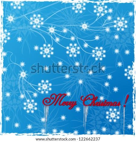 Vector illustration. Christmas background - stock vector