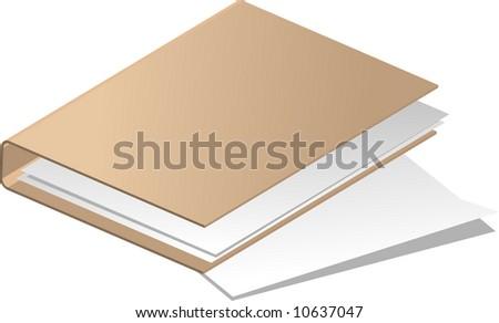 vector illustration - folder - stock vector