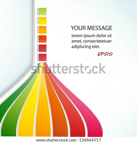 Vector illustration for your business presentations. EPS10. - stock vector