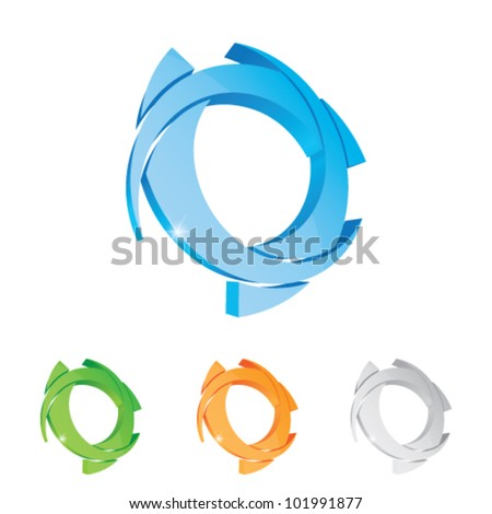 Vector illustration logotype - stock vector