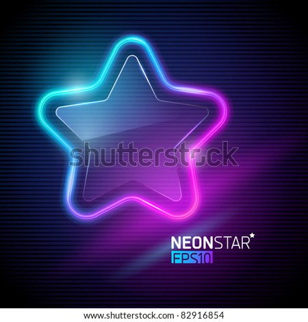 Image colorful neon stars download - Zen tuinmodel ...