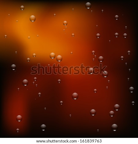 Vector illustration of a soda texture close up - stock vector