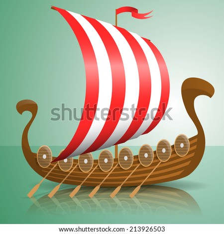 Viking Ship Stock Vectors & Vector Clip Art | Shutterstock