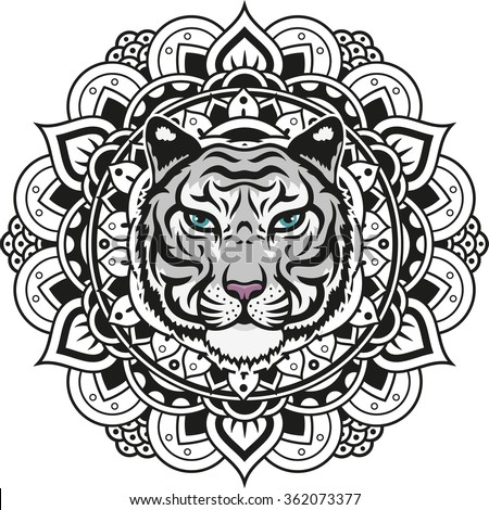 tiger tattoo stock photos images pictures shutterstock