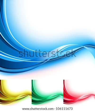 Vector illustration of abstract background. - stock vector