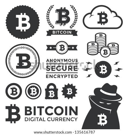 Bitcoin Logo Vector Vector Illustration of Bitcoin