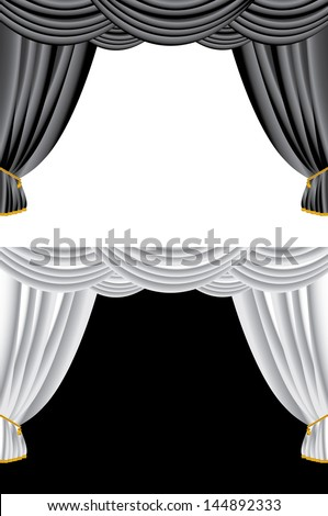 Black Stage Curtain Stock Photos, Images, & Pictures ...