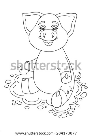 mud puddle coloring pages - photo#41