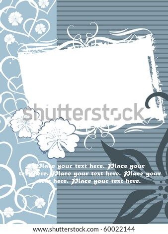 vector illustration of happy mother day background - stock vector