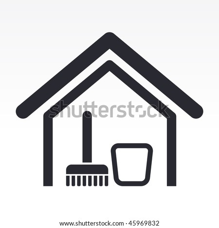 Tidy home stock photos images pictures shutterstock for Modern cleaning concept