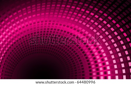 Vector illustration of pink glow back - stock vector