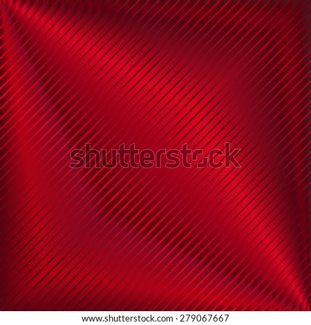 Vector illustration of  red background - stock vector
