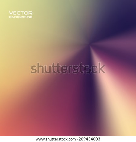 Vector illustration of soft colored abstract background. - stock vector