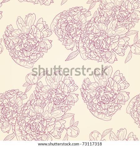 Vector illustration of spring flower ornament - stock vector