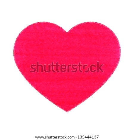 Vector illustration of the symbolic images of the heart - stock vector