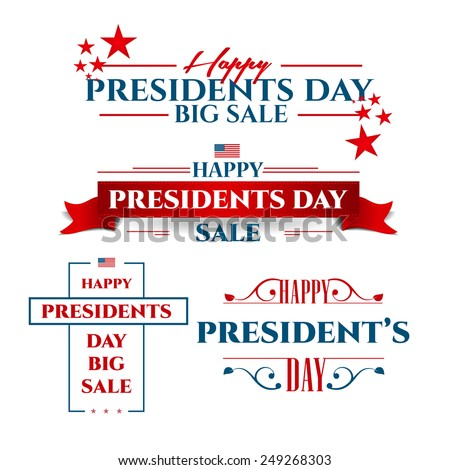 vector illustration President's Day a national holiday of the United States love of the homeland and traditions of its people - stock vector