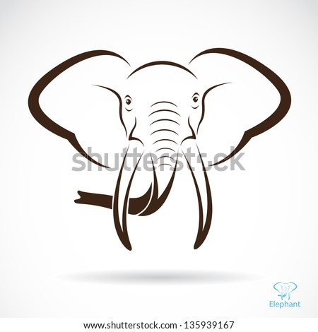 Elephant Drawing Images Vector Image of an Elephant