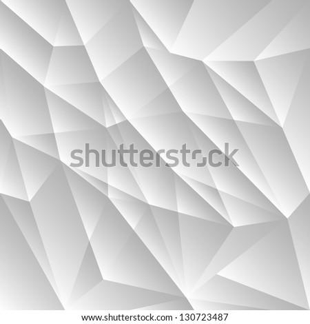 Vector light gray geometric background - stock vector