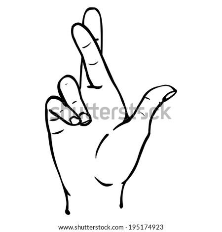 Fingers Crossed Logo Fingers Crossed Stock