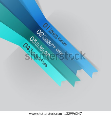 vector lines - design template - stock vector