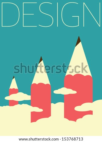 Vector Minimal Design - Design - stock vector