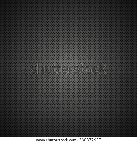 Vector modern black metal grid texture background - stock vector