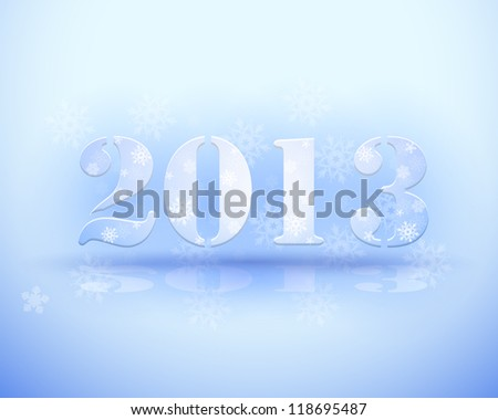 Vector New Year - stock vector