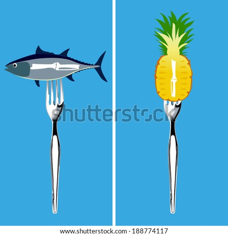 Vector of  Foods for  Arthritis healthy, Clean Eating Concept. - stock vector
