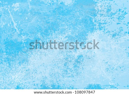 Vector of ice background - stock vector