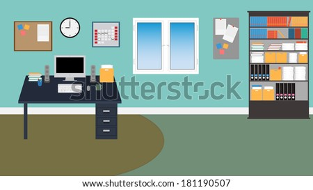 Desk Chair Stock Photos Images Pictures Shutterstock