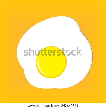 Vector omllet design  - stock vector