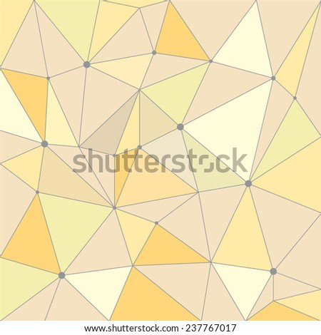 Vector Pattern. Irregular abstract linear grid. Graphical hand drawn background. Reticulated monochrome texture. EPS10 - stock vector