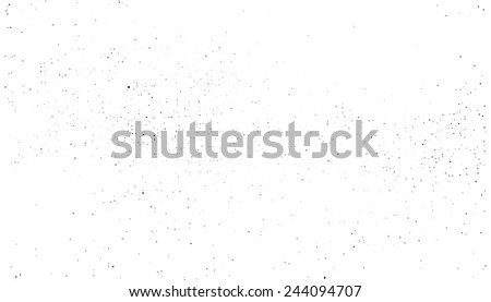 Vector porous grungy texture. For creating grungy illustrations. Points on canvas - stock vector